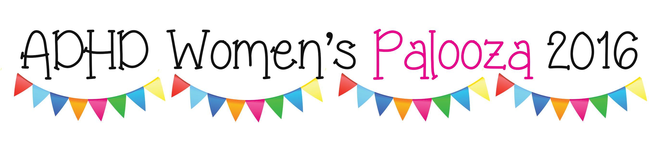 adhd womens palooza 2016 logo
