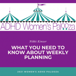 What You Need to Know About Weekly Planning